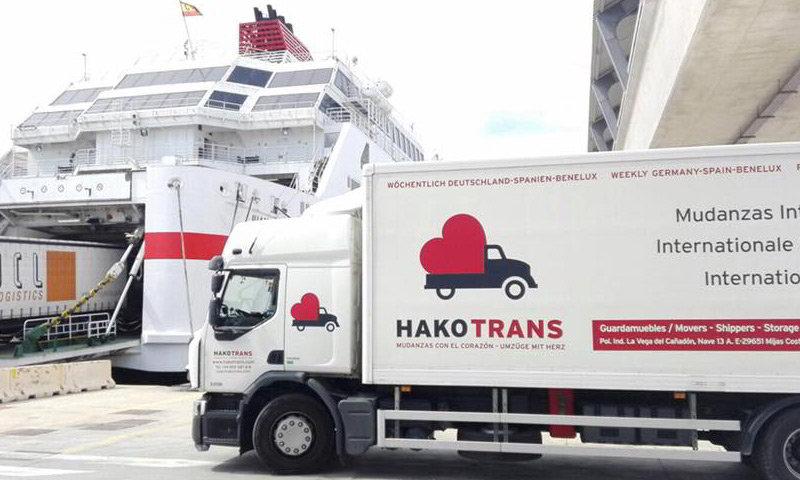 Transporte de mudanza Internacional
